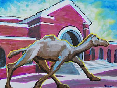 Camel Art Print by Tommy Midyette