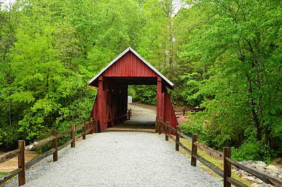 Photograph - Campbells Covered Bridge by Bob Sample