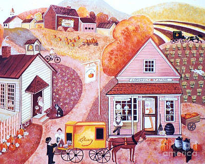 Campbell's General Store Art Print by Judy Redder