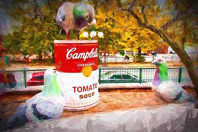 Photograph - Campbell's Soup by Bill Howard
