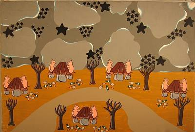 Painting - Campers by Erika Chamberlin
