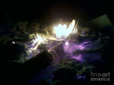 Digital Art - Campfire By Angelia Clay by Angelia Hodges Clay
