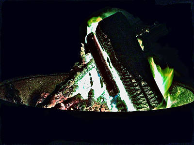 Photograph - Campfire by Carol Tsiatsios
