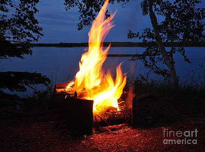 Photograph - Campfire by Glenn Gordon
