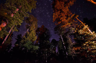 Photograph - Campfire Under The Stars by Saija  Lehtonen