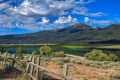 Photograph - Campground View Of Lake Cascade by Robert Bales