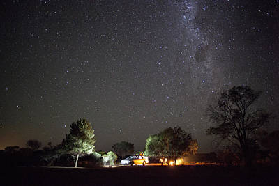 Photograph - Camping Under The Stars by David Trood