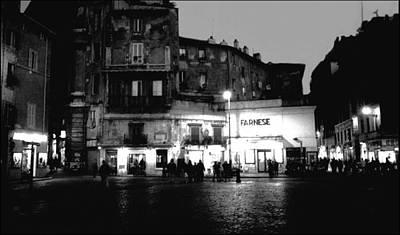 Giordano Bruno Photograph - Campo Dei Fiori by Nancy Robinson