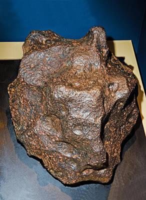 Photograph - Campo Del Cielo Meteorite by Millard H. Sharp