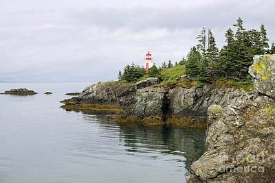 Campobello Island -  East Quoddy Lightstation Art Print by Christiane Schulze Art And Photography
