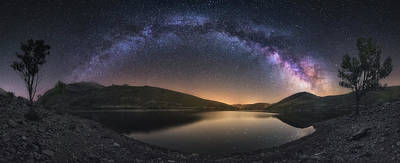Milky Way Wall Art - Photograph - Camporredondo Milky Way by Carlos F. Turienzo