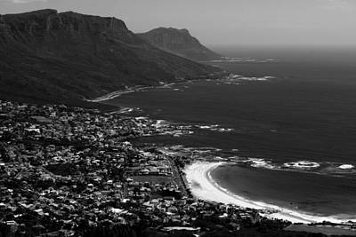 Photograph - Camps Bay Cape Town by Aidan Moran