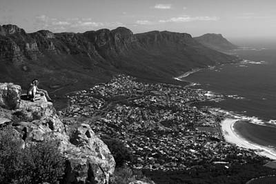 Photograph - Camps Bay View Cape Town by Aidan Moran