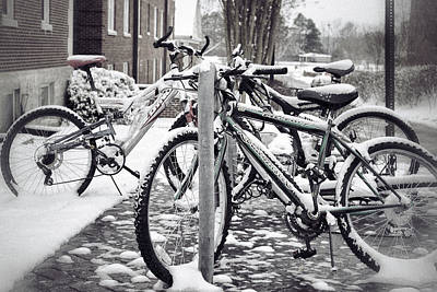 Photograph - Campus Winter by Jason Politte