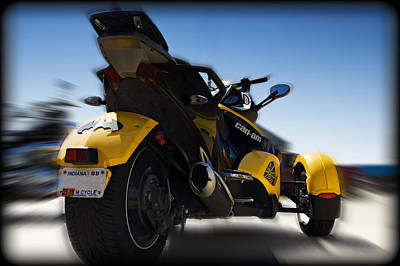 Pop Art Rights Managed Images - Can-Am Spyder Royalty-Free Image by Ricky Barnard