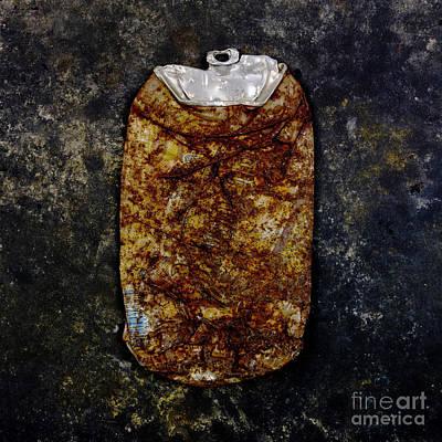 Silver Findings Photograph - Can by Bernard Jaubert