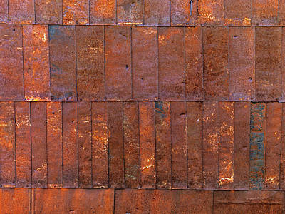Weather Photograph - Can Wall 2 by Leland D Howard