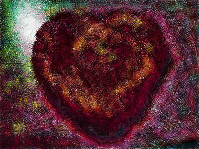 Can You See My Heart Beating? Art Print
