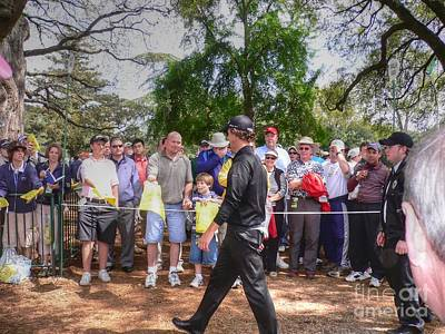 Masters Golf Photograph - Can You Sign My Card by David Bearden