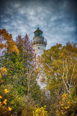 Cana Island Lighthouse II By Paul Freidlund Art Print by Paul Freidlund