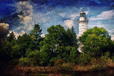Photograph - Cana Island Lighthouse by Joel Witmeyer