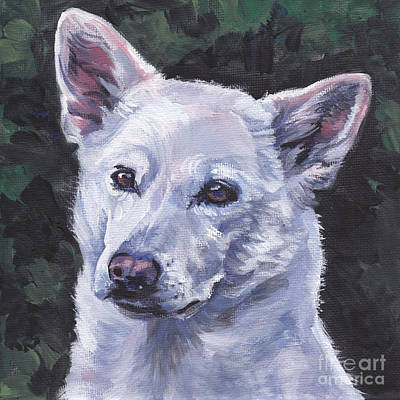 Painting - Canaan Dog by Lee Ann Shepard