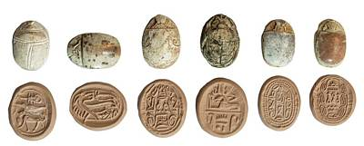 Canaanite Scarab Seals Art Print