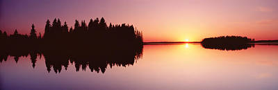 Surreal Landscape Photograph - Canada, Alberta, Elk Island National by Panoramic Images