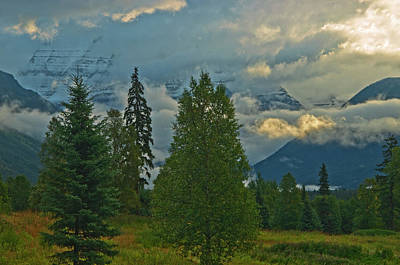 British Columbia Photograph - Canada, British Columbia, Mt by Jaynes Gallery