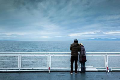 British Columbia Photograph - Canada, British Columbia, Strait by Walter Bibikow