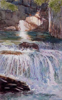 Canada Cascade Art Print