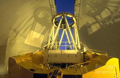 Canada-france-hawaii Telescope Art Print by Stephen & Donna O'Meara