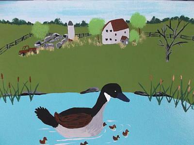 Canada Goose Original by Lois D  Psutka