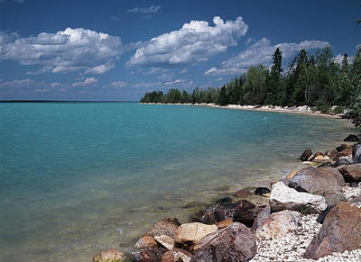 Canada, Manitoba, Little Limestone Lake Art Print