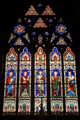 Coloured Glass Photograph - Canada. Montreal. Christ Church by Everett