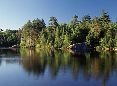 Canada, Ontario, Lake (large Format Art Print by Jaynes Gallery