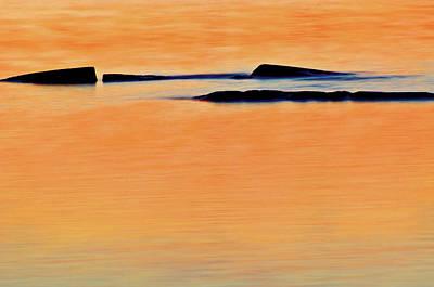 Georgian Bay Wall Art - Photograph - Canada, Ontario Shoals At Sunset by Jaynes Gallery