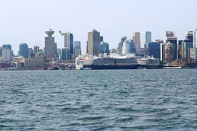 Photograph - Canada Place by Devinder Sangha