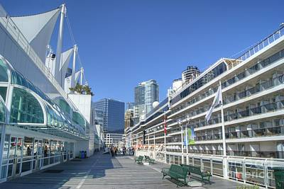 Photograph - Canada Place Vancouver by David Birchall