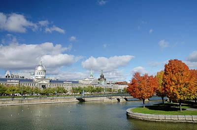 Quebec Photograph - Canada, Quebec, Montreal by Cindy Miller Hopkins