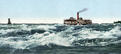 Montreal Painting - Canada Steamboat, C1901 by Granger