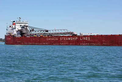 Photograph - Canada Steamship Lines by Mary Bedy