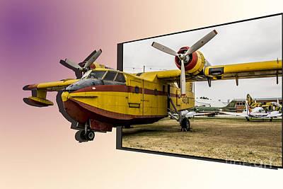Photograph - Canadair 3d by Stefano Piccini