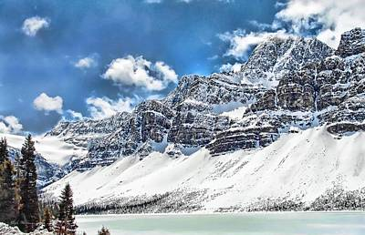 Photograph - Canada's Bow Lake by Dyle   Warren