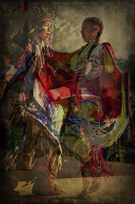 Photograph - Canadian Aboriginal Children by Eduardo Tavares