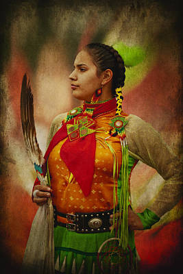 Photograph - Canadian Aboriginal Woman by Eduardo Tavares