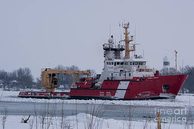 Photograph - Canadian Coast Guard Samuel Risley by Ronald Grogan