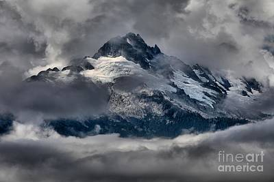 Photograph - Canadian Coastal Mountain Peaks by Adam Jewell