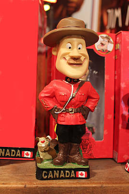 Photograph - Canadian Mountie by Carlos Diaz
