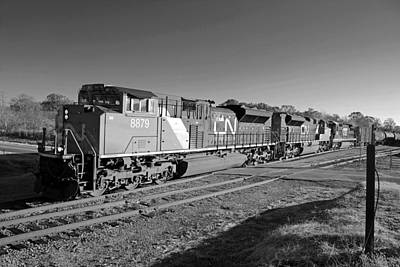 Photograph - Canadian National Sd70ace #8879 by Joseph C Hinson Photography